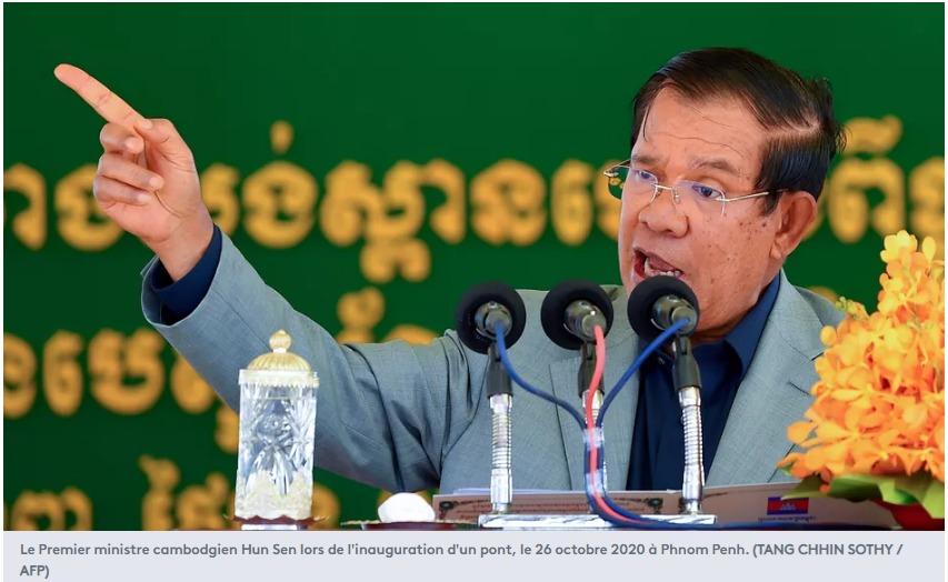 Cambodge Le Premier ministre cambodgien Hun Sen