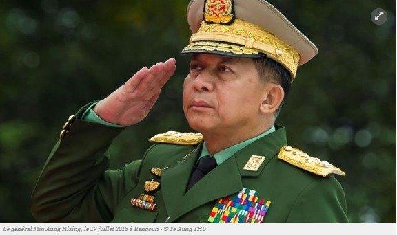 Le général Min Aung Hlaing