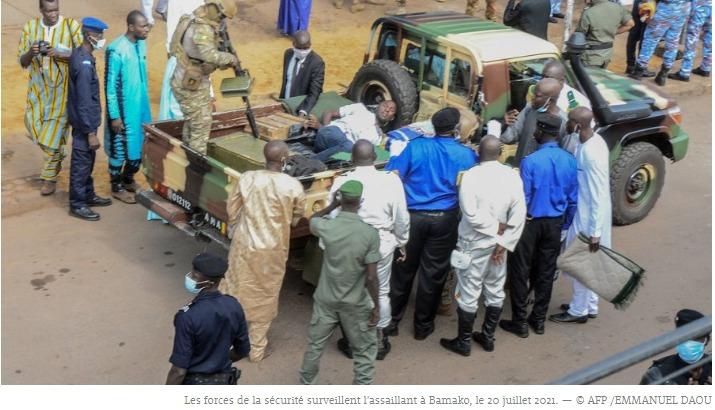 Mali l'homme suspecté d'avoir tenté de tuer le président est mort en détention