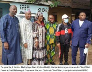 Guinée quatre hauts dirigeants de l'UFDG