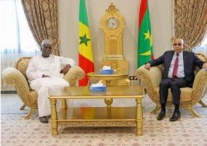 Macky Sall et Cheikh El Ghazouani renforcent l'axe Dakar- Nouakchott