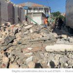 Dégâts considérables dans le sud d'Haïti
