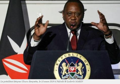 Le président kényan Uhuru Kenyatta