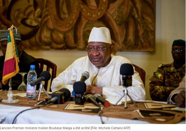 Mali l'ex-PM Boubeye Maiga arrêté pour corruption