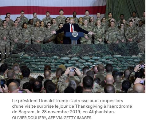 le président Donald Trump met en garde contre un retrait « précipité » des troupes d'Afghanistan