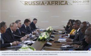 quand Bamako et Bangui mettent en avant leur passé avec Moscou