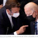 Crise des sous-marins : Macron joue l'apaisement avec Biden et espère relancer son agenda européen