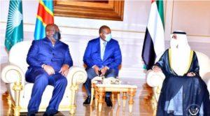 Le Président de la République Félix Antoine Tshisekedi est arrivé ce samedi 9 octobre 2021 à Abu-Dhabi
