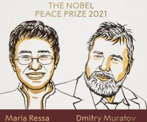 Le prix Nobel de la paix décerné à deux journalistes