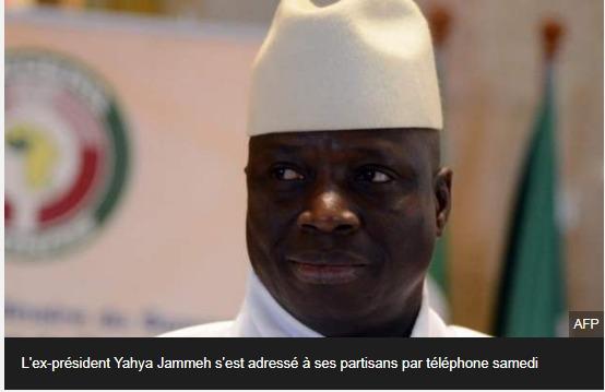 L'ex-président Yahya Jammeh